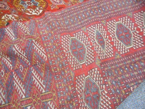 Semi Antique Bokara 9' x 13' - 3