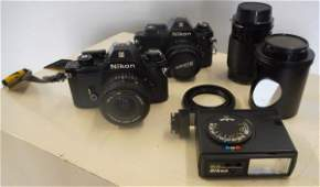 Nikon Cameron Lot Cameralenseslight meter