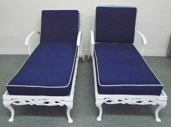 Pair of Brown Jordan Chaise Lounges - 2