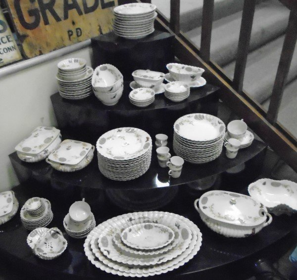 Limoges 100+ Pc. Service /  Rare Pattern