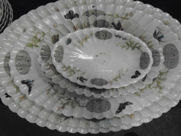 Limoges 100+ Pc. Service /  Rare Pattern - 2