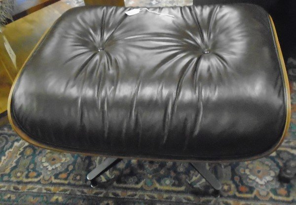 Signed Herman Miller Eames Ottoman