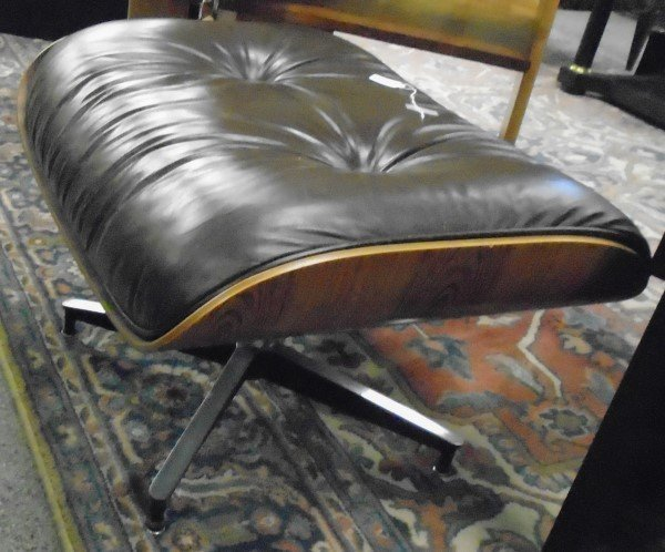 Signed Herman Miller Eames Ottoman - 2