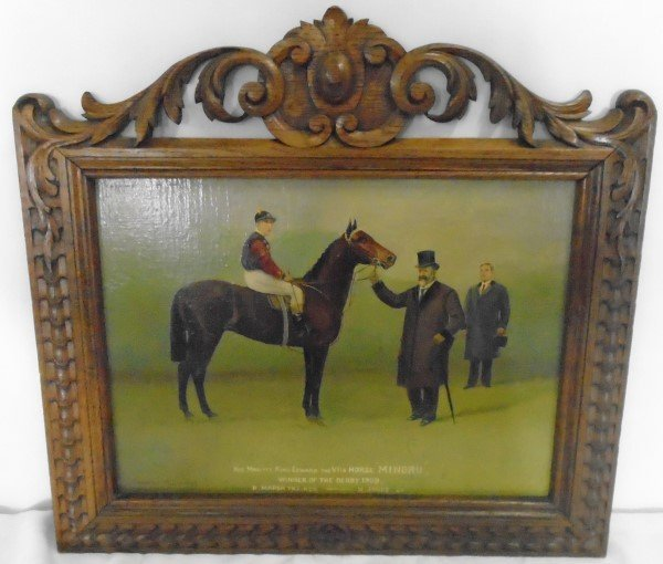 Equestrian Painting- Charles Munnings dated 1909