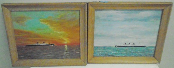 2 Small Oil Paintings