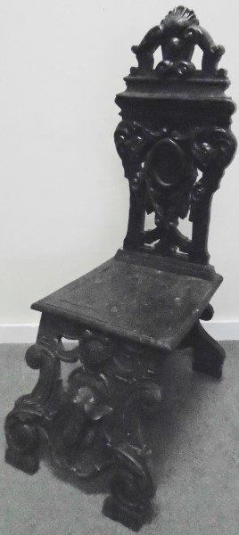 Carved English Chair