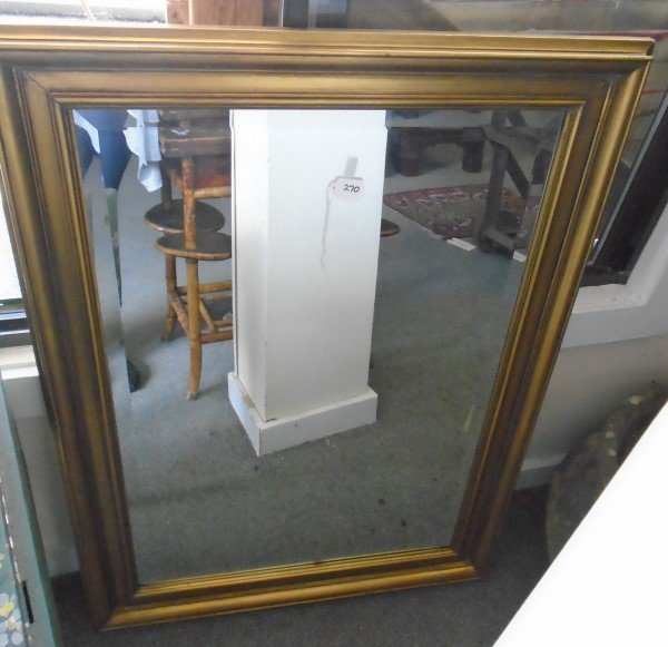 Gold Framed Mirror 30 x 42