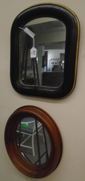 2 Small Victorian Mirrors