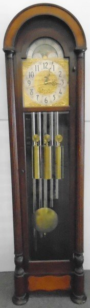 Herschede Hall Electric Tall Case Clock