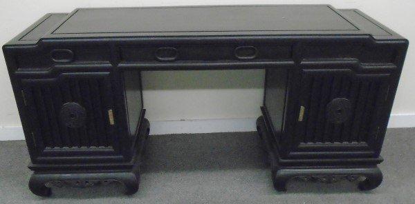 Ebonised Oriental Cabinet