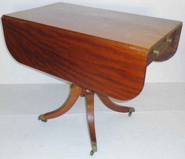 Federal one Drawer Drop Leaf Breakfast Table