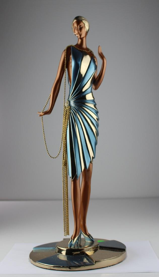 Erte Bronze Sculpture