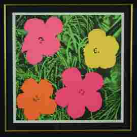 "Andy Warhol ""Flowers"" Original"