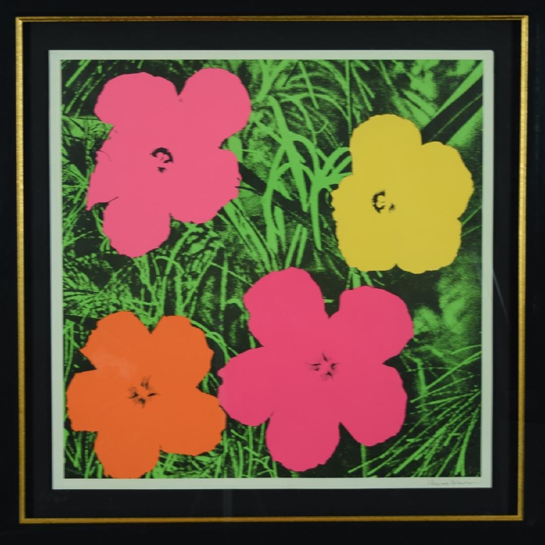 "Andy Warhol ""Flowers"" Original"
