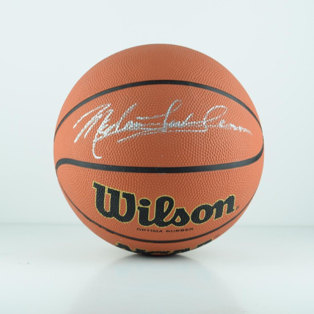 Meadow Lark Signed Basketball