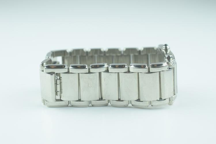 Patek Philippe Stainless Steel with Diamonds