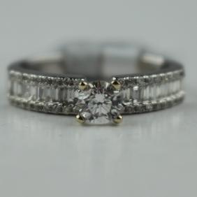 Diamond Unity Ring .77ctw