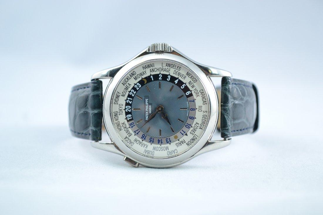 Patek Philippe World Timer.Retail:$59,000