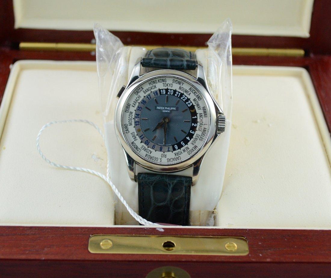 Patek Philippe World Timer.Retail:$59,000 - 4