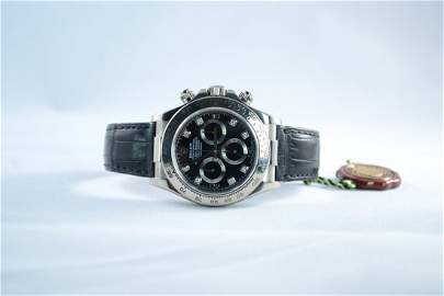 Rolex Daytona White Gold.