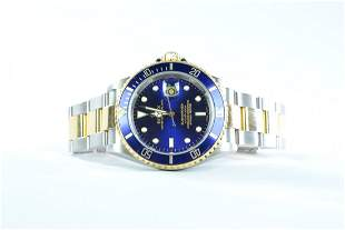 Rolex Two Tone Submariner with Rolex Papers