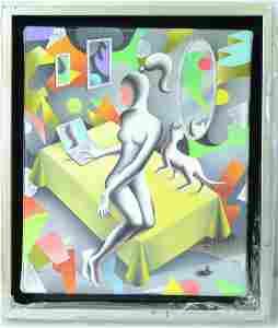Kostabi Original Acrylic