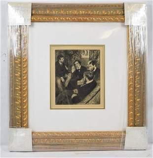 "Pierre-Auguste Renoir ""Portraits"" Original Heliogravure"