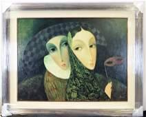 Sergey Smirnov Limited Edition Mixed Media on Canvas