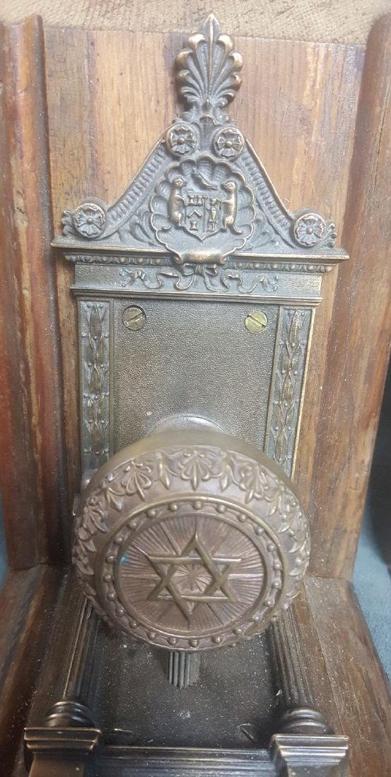 Masonic Doorknob Bookends - 2