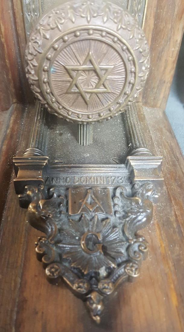 Masonic Doorknob Bookends - 3