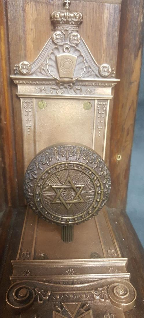Masonic Doorknob Bookends - 4