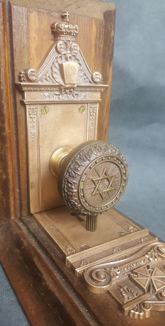 Masonic Doorknob Bookends - 7