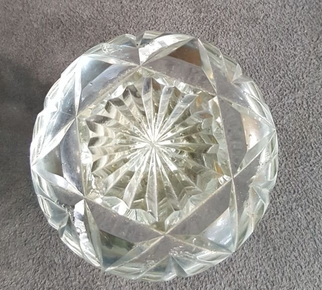 Another Fine Cut Glass Knob