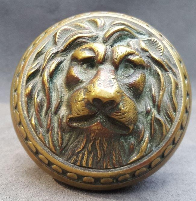 Jumbo Lion Knob