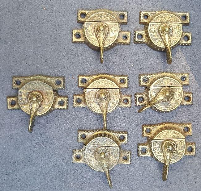 Seven Matching Sash Locks
