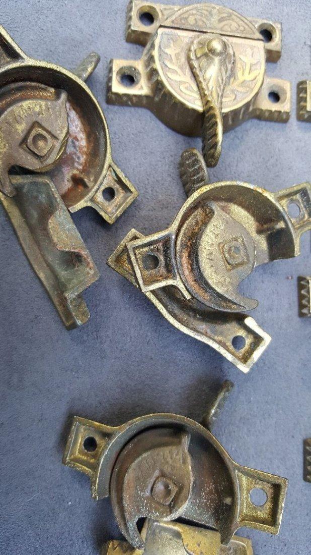 Seven Matching Sash Locks - 3