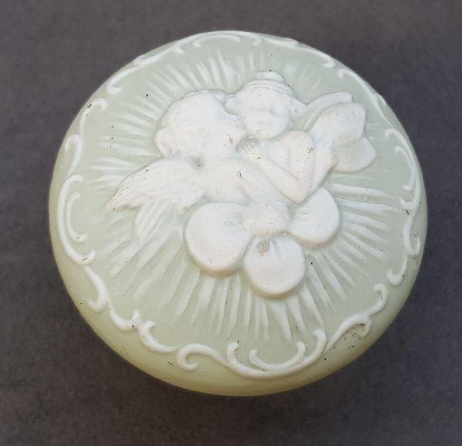 Ceramic Passage Knob With Putti