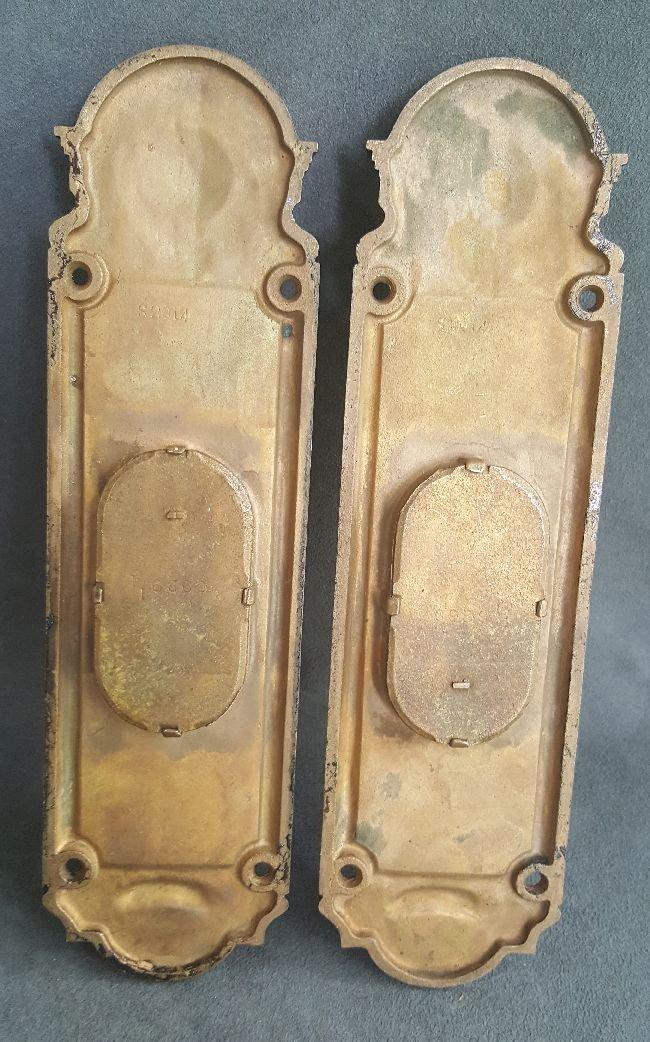 Pair of Bronze Finger Plates - 4