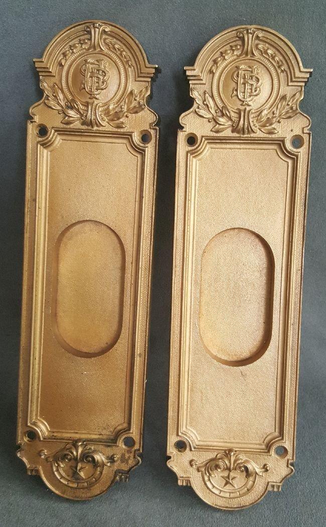Pair of Bronze Finger Plates - 5