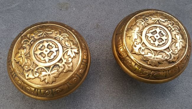 Two Nice Passage Knobs