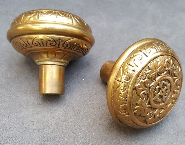 Two Nice Passage Knobs - 3
