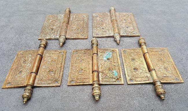 Lot of Bronze Pintel Hinges - 3
