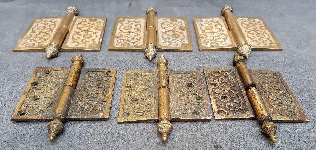 Lot of Bronze Pintel Hinges - 5