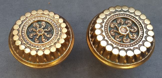 Two Corinthian Patter Door Knobs - 4