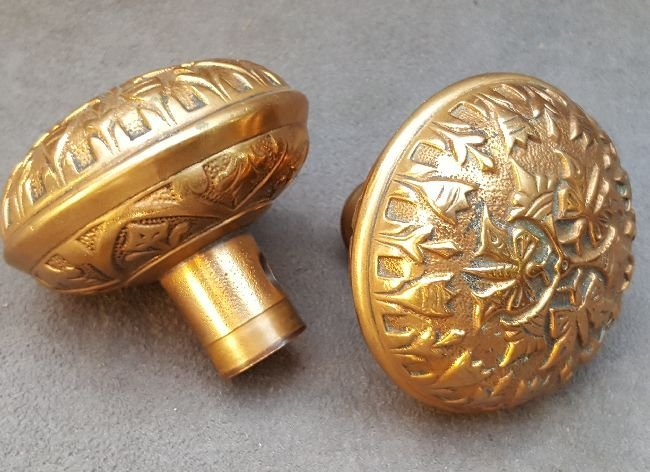 Two Butterfly Passage Knobs - 2