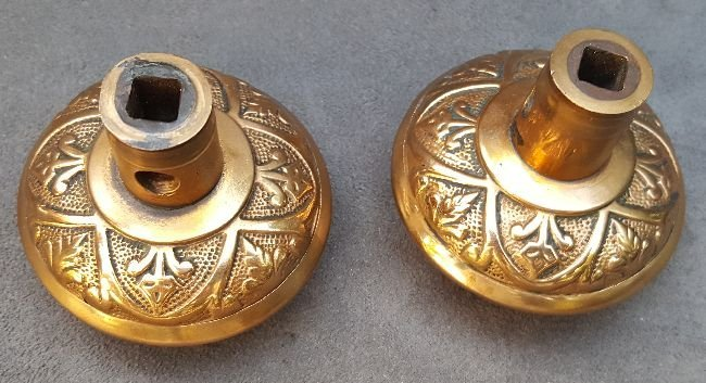 Two Butterfly Passage Knobs - 3