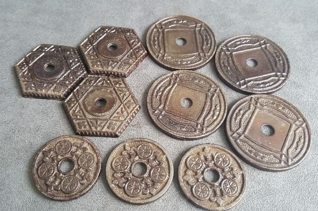 Chandelier Hook Ceiling Plates - 2
