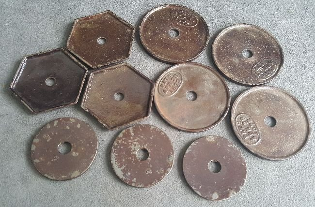 Chandelier Hook Ceiling Plates - 3