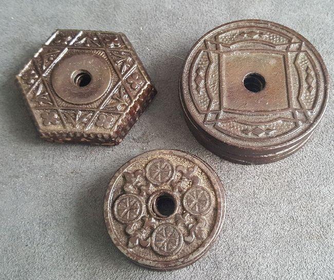 Chandelier Hook Ceiling Plates - 4