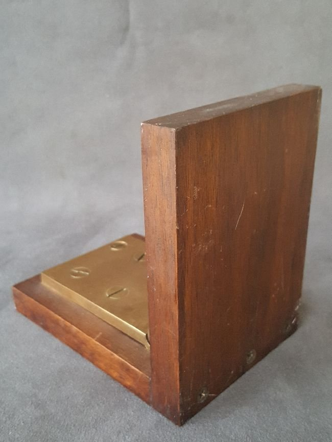 Book End Made From A Bronze Hinge - 2
